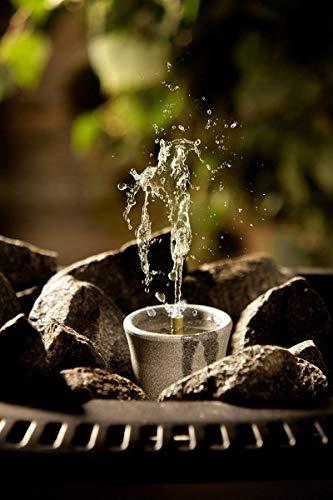 Saunabrunnen aus Speckstein für den Saunaofen -Sisukas- 30 ml (Hukka Design)