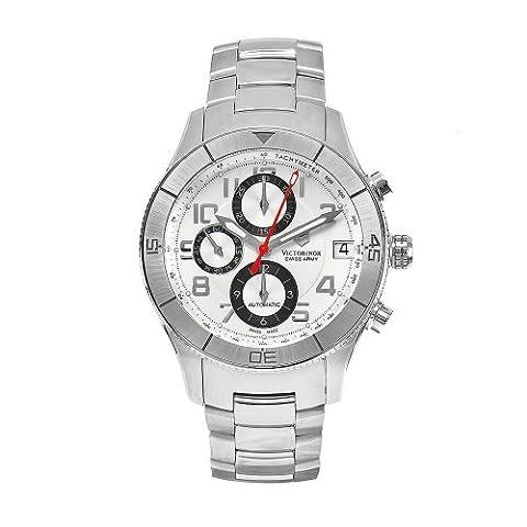 Victorinox Swiss Army CSE 241191 hommes en acier inoxydable Montre chronographe automatique