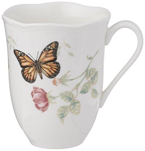 Lenox Butterfly Meadow Monarch Mug by Lenox (Meadow-chip Butterfly)