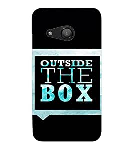 EPICCASE Think out of the box Mobile Back Case Cover For Microsoft Lumia 550 (Designer Case)