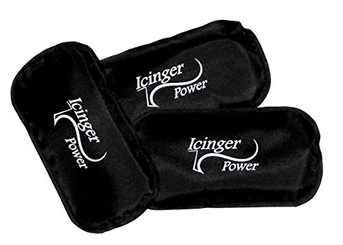 "3 pack caldo freddo - Icinger Power - 18x9cm (7.5""x3.5"")- 160gr (7oz) - Rivestimento in nylon antiperdita"