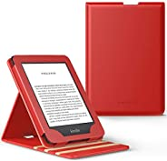 MoKo Case Fits All-New Kindle (10th Generation, 2019) / Kindle (8th Generation, 2016), Premium Vertical Flip C