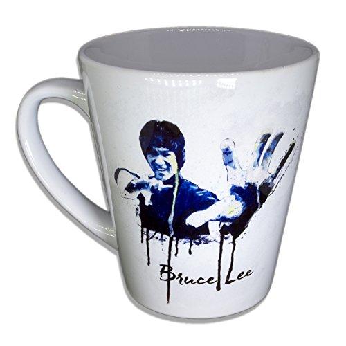 Bruce Lee - Unikat Handarbeit Designer Tasse aus brillanten Porzellan - Tasse, Becher, Kaffeetasse,...