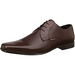 Red Tape Men's Brown Leather Formal Shoes - 8 UK/India (42 EU)