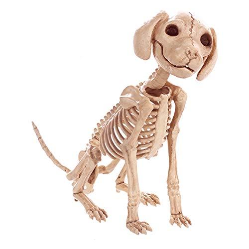 Halloween Dekorationen, Spukhäuser, Simulation, Hunde, Skelette, Knochen, Skelette, Horror Bars, Film und TV (Hund Skelett Halloween Dekoration)