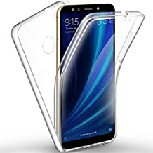 AROYI Funda Xiaomi Mi A2 / Xiaomi Mi 6X, Ultra Slim Doble Cara Carcasa Protector
