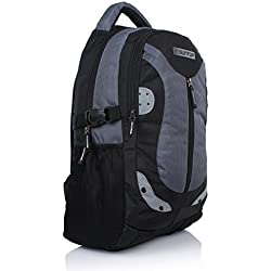 Suntop Neo 9 26 L Medium Laptop Backpack (Black & Grey)