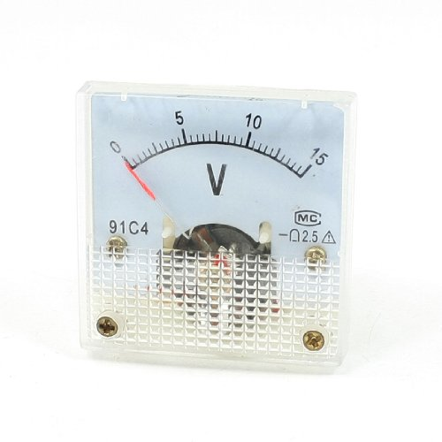 Klasse 2,5 Genauigkeit DC 0-15 V Analog Voltage Panel Meter Voltmeter Dc Analog Voltmeter-panel