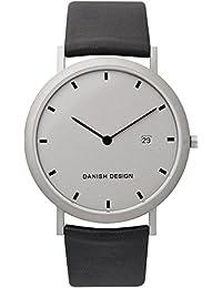 Danish Design Herren-Armbanduhr IQ19Q881 Analog Quarz Leder IQ19Q881