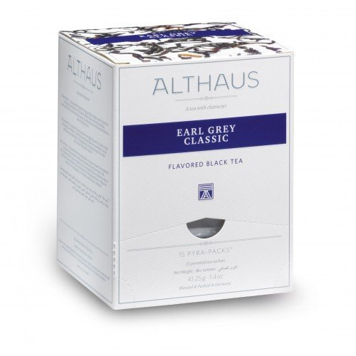 Althaus Pyra Pack Earl Grey Classic 15 x 2,75 g