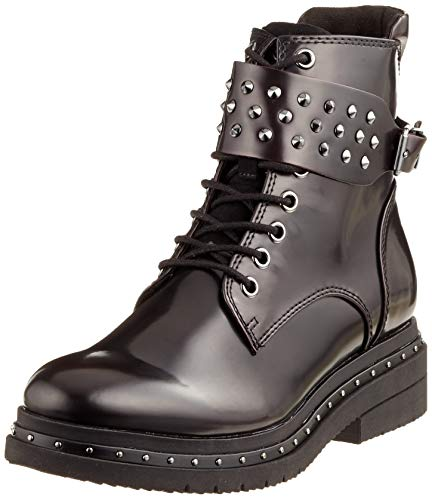Tamaris Damen 25113-21 Combat Boots, Rot (Bordeaux Brush 551), 38 EU