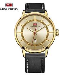 92ec9b2abe0b Mini Focus Relojes de Moda de los Hombres de Moda Reloj de Pulsera de Reloj