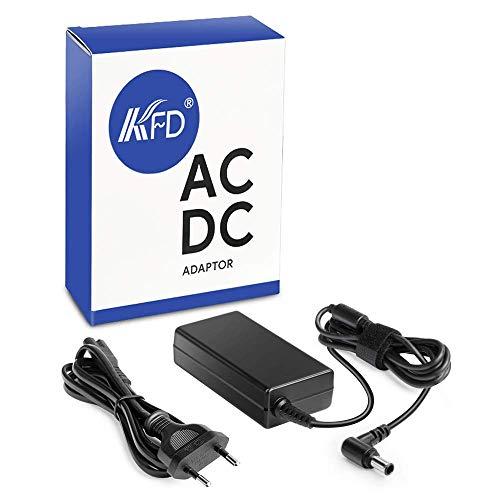 KFD 65W Laptop Netzteil ac/dc adapter 100-240v 50-60hz Ladegerät für Sony Vaio VPCSB VGP-AC19V48 SVT131a11m VPCSE VPCEB PCG-61611L PCG-71411L VGP-AC19V43 AC19V44 ADP-65UH PA-1650-88S PCG-F 19,5V 3,33A -