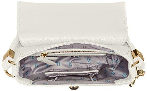 Trussardi 75b495xx53, Borsa a Tracolla Donna, 17 x 16 x 10 cm (W x H x L) Multicolore (White P16)