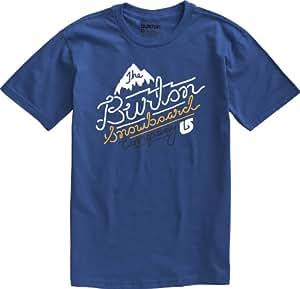 Burton Herren T-Shirt Sign Painter Shortsleeve, Royal, S, 11234100449