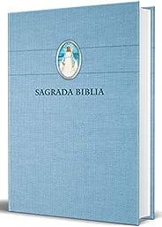 Biblia Católica En Español. Tapa Dura Azul, Con Virgen Milagrosa En Cubierta / Catholic Bible. Spanish-Languag
