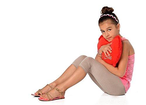 Kinder 3/4 Leggings in 22 Farben Baumwolle, Gr. 92 bis 158 cm,...