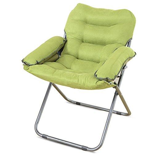 QIDI Chaise Longue Pliante en Métal 52 * 58cm (Couleur : Style 1)