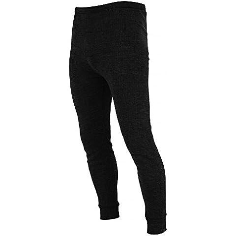 FLOSO - Pantalones largos interiores/ pijama térmico (Gama alta - Viscolatex)