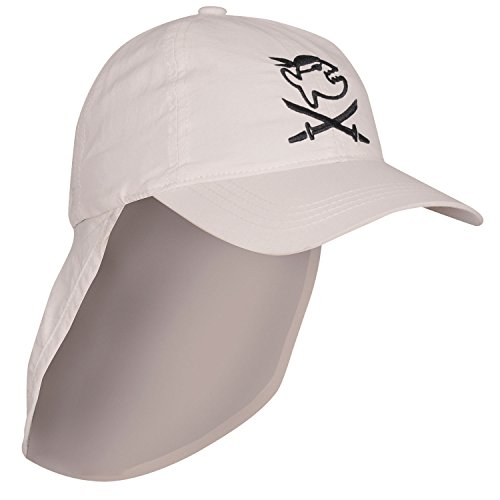 iQ-Company Kinder Cap  & Neck UV200+ Jolly Fish, 2110_stone, one size, 328315_2110_Stk. - 3