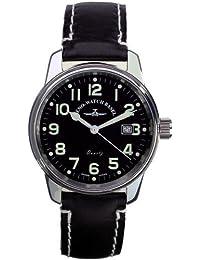 Zeno Reloj Analógico para Hombre de Cuarzo con Correa en Cuero 3315Q_B