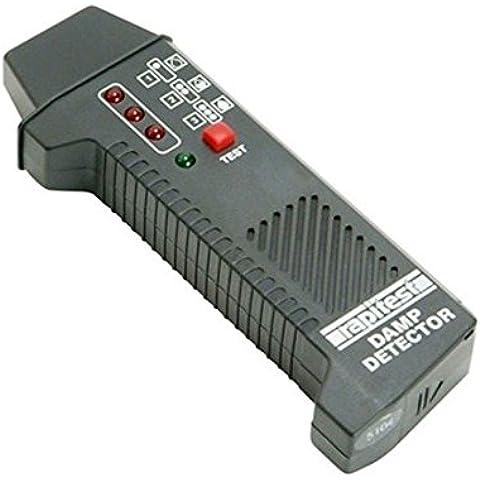 Rapitest DD105digitale Moisture Meter Damp condensa rilevatore Indicatore LED