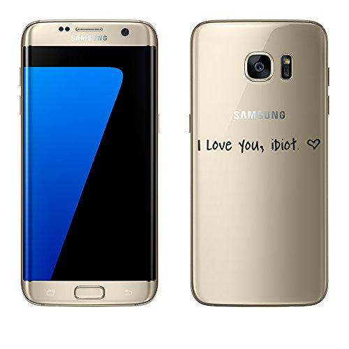 Mobile-edge-schokolade (Samsung Galaxy S7 Edge Hülle von licaso® aus TPU schützt Dein S7 Edge 5,5