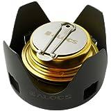 EchoAcc® Mini Portátil Ultraligero Quemador Estufa de Alcohol, juego para el Aire Libre, Senderismo, Camping