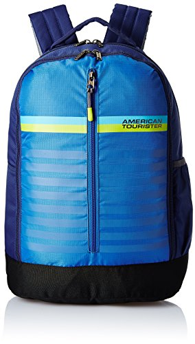 American Tourister 28 Ltrs Blue Casual Backpack (AMT PING BACKPACK 01 – BLUE)