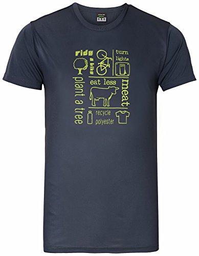 erima Herren Green Concept T-Shirt Print Silex