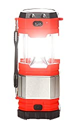 3G GOLD (Model No. TJ-229) Rechargeable Emergency Light Lantern & Portable Ultra Bright Lamp Ideal for Camping, Hiking, Travelling, Study, Emergency, Garden Lights, Torches Rechargeable 2 Power Source, Rechargeable Battery, Solar, and with USB Mobile Charging Point 3G GOLD-TRCH-140-RED