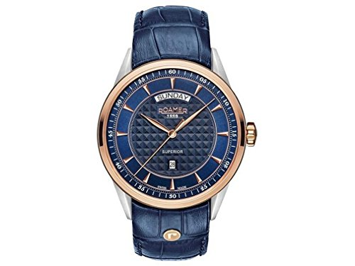 Roamer montre homme Superior Day Date 508293 49 45 05