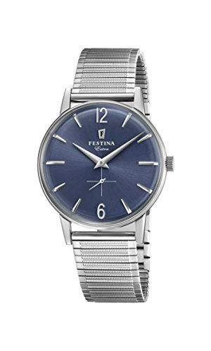 Festina Mens Analogue Classic Quartz Watch with Stainless Steel Strap F20250/3