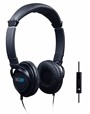 Official Nintendo Wii U Licensed Stereo Chat Headset (Wii U) from Venom