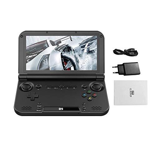 WEIWEITOE-DE Portable Größe GPD XD Plus 5-Zoll-Game-Player Gamepad 4 GB / 32 GB MTK8176 2,1 GHz Handheld-Spielkonsole Game Player, schwarz,