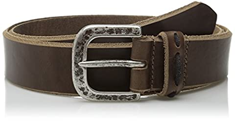 Allen Edmonds Men's Western Ave Belt - brown
