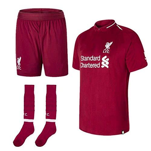 2018-2019 Jungen personalisierte Fußball-Sport-Kits, Erwachsene Jugend anpassen (Home & Away) Fußball Fußball Jersey & Shorts & Socken mit beliebigem Namen und Nummer