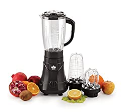 Bms Lifestyle 450-Watt High-Speed Blender Mixer Grinder And Juicer, 3-Jar With Liquid Jar,Black