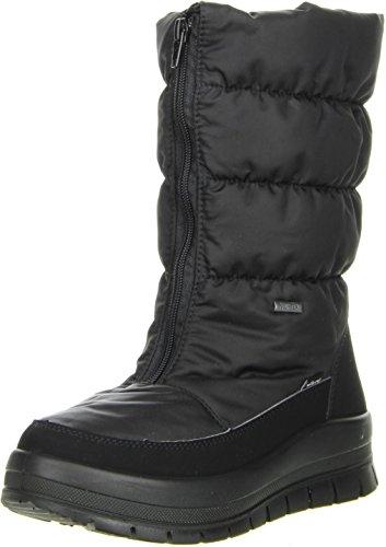 Vista Damen Winterstiefel Snowboots schwarz, Größe:40;Farbe:Schwarz