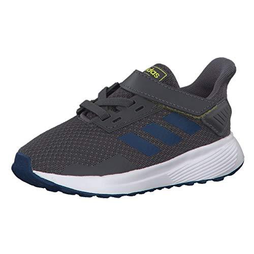 adidas Unisex-Kinder Duramo 9 I Fitnessschuhe Mehrfarbig (Gricin/Marley/Amasho 000), 26.5 EU - Jordan Schuhe Jungen Kleinkind