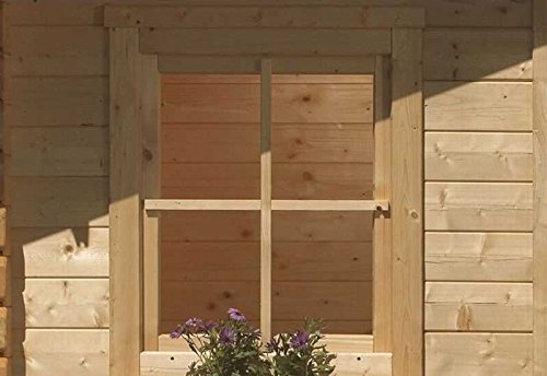 Karibu Fenster für 38 mm natur Dreh- / Kippfenster