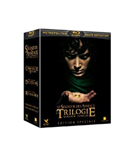 Coffret Trilogie Le Seigneur des Anneaux - 15 disques [Blu-ray] [Version Longue - Édition spéciale] [Version Longue - Édition spéciale] [Version Longue - Édition spéciale] (B004VFYNYE) | Amazon price tracker / tracking, Amazon price history charts, Amazon price watches, Amazon price drop alerts