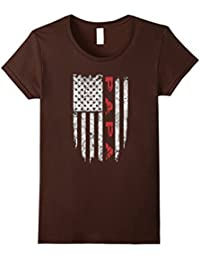 Papa American Flag T-shirt Grandpa Gifts Men Tee Shirts