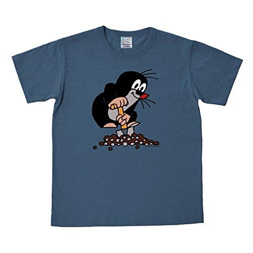 Der Kleine Maulwurf T-Shirt zur TV-Serie, blau, sehr hochwertig - M Blau Tv