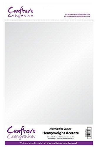 crafter-s-companion-a3acetato-10-250micron-colore-trasparente-confezione-da-10