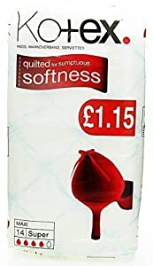Kotex Maxi Super Sanitary Towels