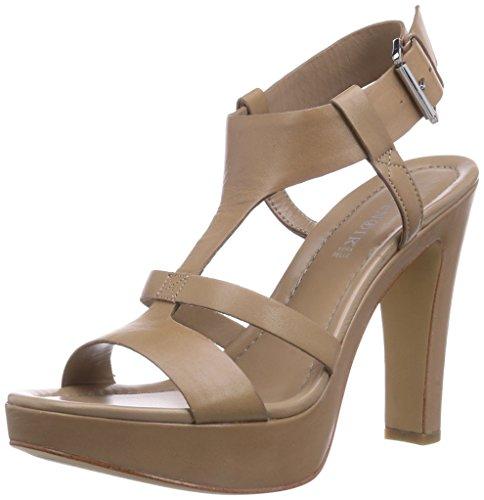 CafèNoir - Sandal, - Donna Grigio (Grau (273 TAUPE))