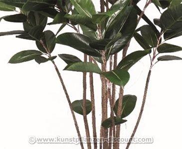 Künstlicher Gummibaum, Höhe ca. 150cm – Kunsblumen künstliche Blumen Kunstpflanzen künstliche Pflanzen Blumen