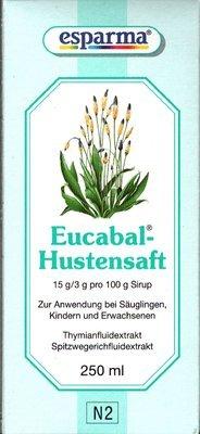 Eucabal Hustensaft 250ml