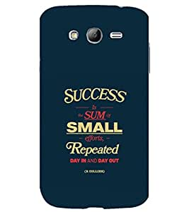 printtech Cool Quotes Success Back Case Cover for Samsung Galaxy Grand Neo Plus / Samsung Galaxy Grand Neo Plus i9060i